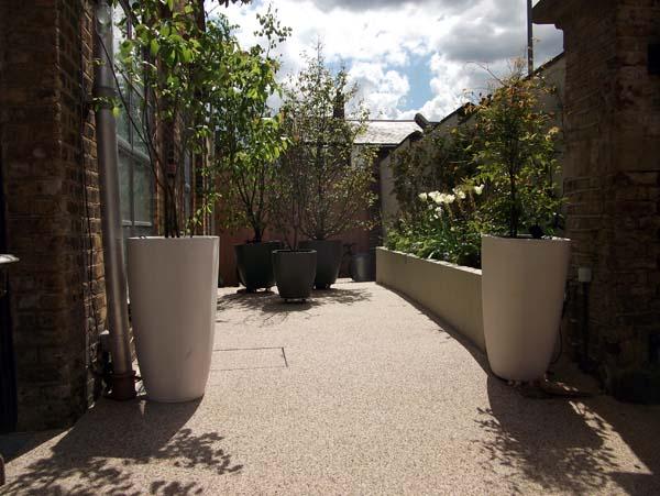 resin bonded courtyard