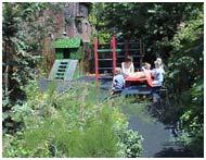 school garden Hammersmith