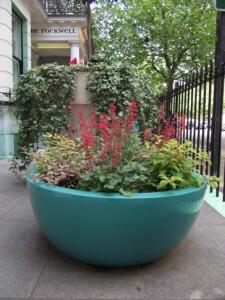 Kensington hotel summer planting
