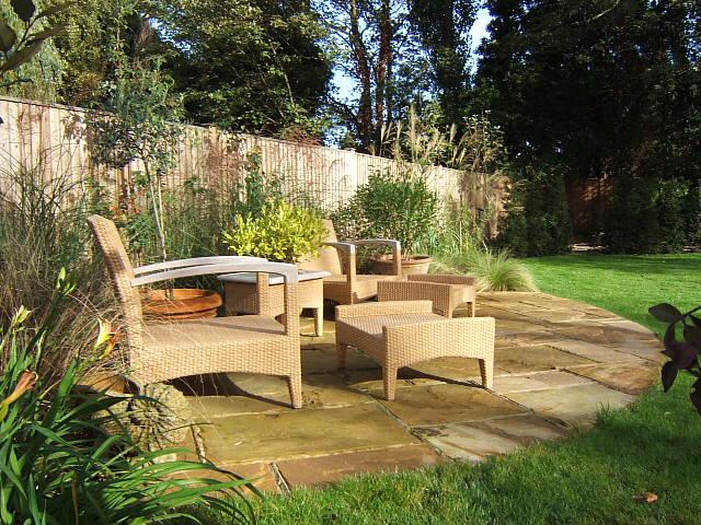 Wimbledon new build garden designer