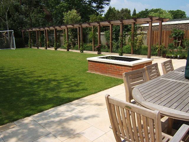 New build garden designer