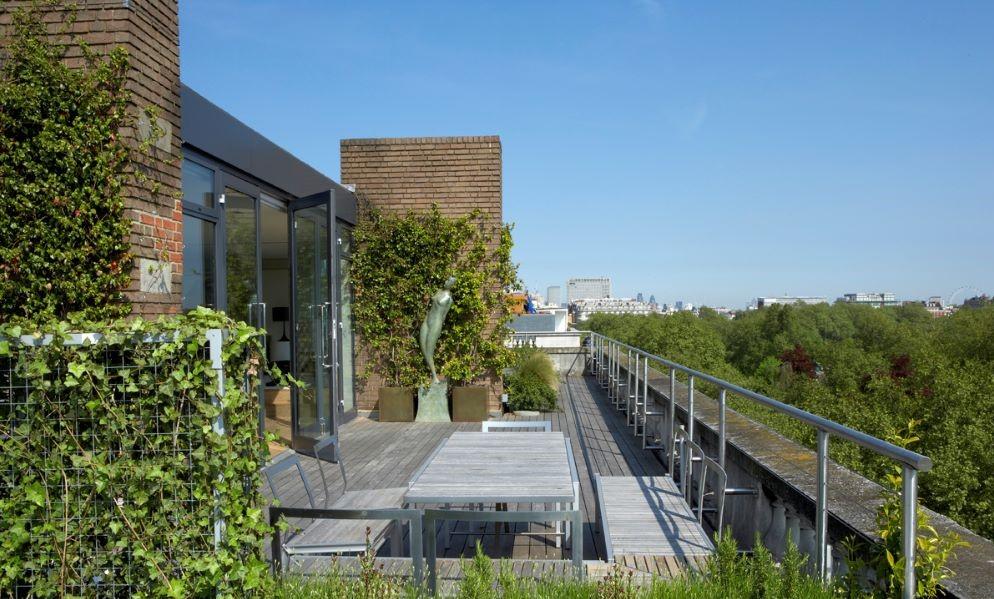 penthouse roof terrace designer