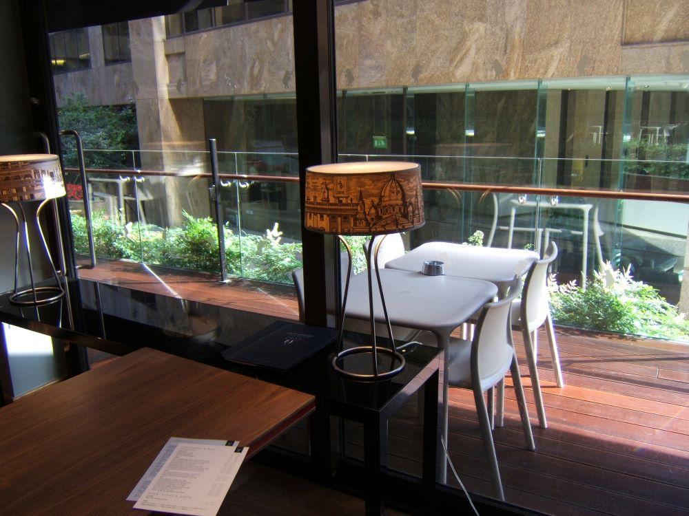 City restaurant planting designer