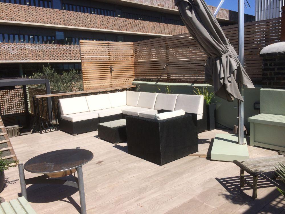 Battersea penthouse roof garden